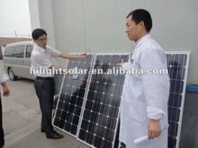 Best-Sale 130Wp Mono solar energy panel in Brazil with TUV IEC CE CEC ISO