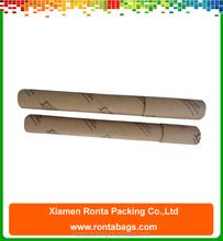 Custom Logo Printing Kraft Paper Box Cylinder Packaging Mail Box Factory