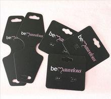 wholesale custom printed cardboard earring display cards(popular in America)