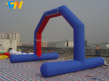 PVC or oxford cloth inflatable arch, red and blue inflatable archway