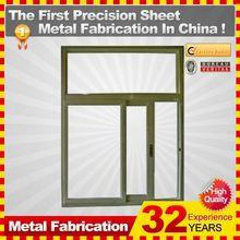 2014 puertas de metal OEM china profesionales con buena calidad ISO9001: 2008