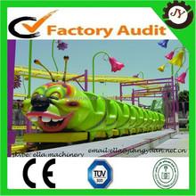mini roller coaster!!! kiddie amusement rides track train, worm roller coaster for sale