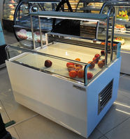 Bakery open top cold sandwich display cooler