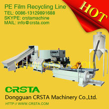 CRSTA hot selling high output waste plastic film recycling production line