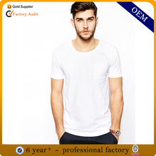 Wholesale cheap plain white t-shirts for men