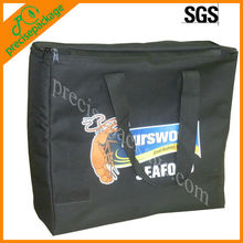 Black color oxford cooler bag for frozen food (PRC-805)