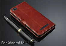 Ultra Thin Wallet & Cards Leather Case For Xiaomi Mi 4 Mi 4i, Case Cover For Xiaomi Mi 4i
