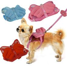 Angel wings dog leash nylon dog collar animal shoulder Strap Angel dog harness set,IPT-PH12