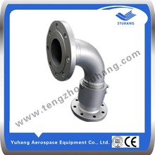 Double flanged elbow Pipe Joint