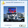 most popular P10 outdoor full color led advertising vehicle and display truck