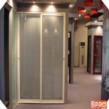 New door design bathroom sliding door, aluminum sliding door profile style