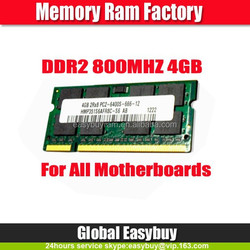 Big discount ETT original chipsets laptop 4gb ddr2 ram stick