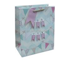 Luxury Shopping Bag white Kraft Paper Bag