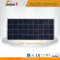 140w High Quality Home Use Best Price Solar Panel Roof
