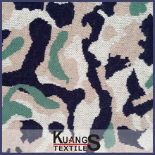 100 viscose single jersey printed warp knitted fabric