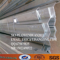 High zinc coated thickness Hot-dipped galvanized angle steel bar