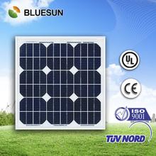 Best price and good design mono 30w pv solar panel price