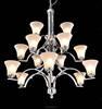 big lobby chandelier & residential lighting fixtures