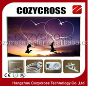 High heating efficiency Wall or Ceiling Mounted Heater Infrared radiation Heating