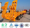 Factory supplier Low bed truck trailer sale, china truck trailer