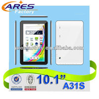 10.1 inch quad core allwinner boxchip a31s android 4.4 smart tablet pc/MID