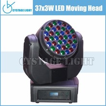 Hot Sale Rgb Color Mixing Led Stage Moving Head Bar Dj Beam Led Moving Head 37x3w