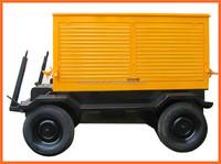4 wheel trailer diesel generator set