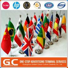 Durable impression personnalisée drapeaux du monde Images