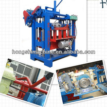 First rate Professional manufacturer Popular and good sale small hollow brick machine