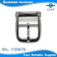 New zinc alloy gunmetal plating pin buckles for handbag