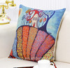 wholesale custom printed canvas pillow cases