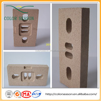 Special Shape Vermiculite Fireplace Board Fire Resistant Board for Stoves