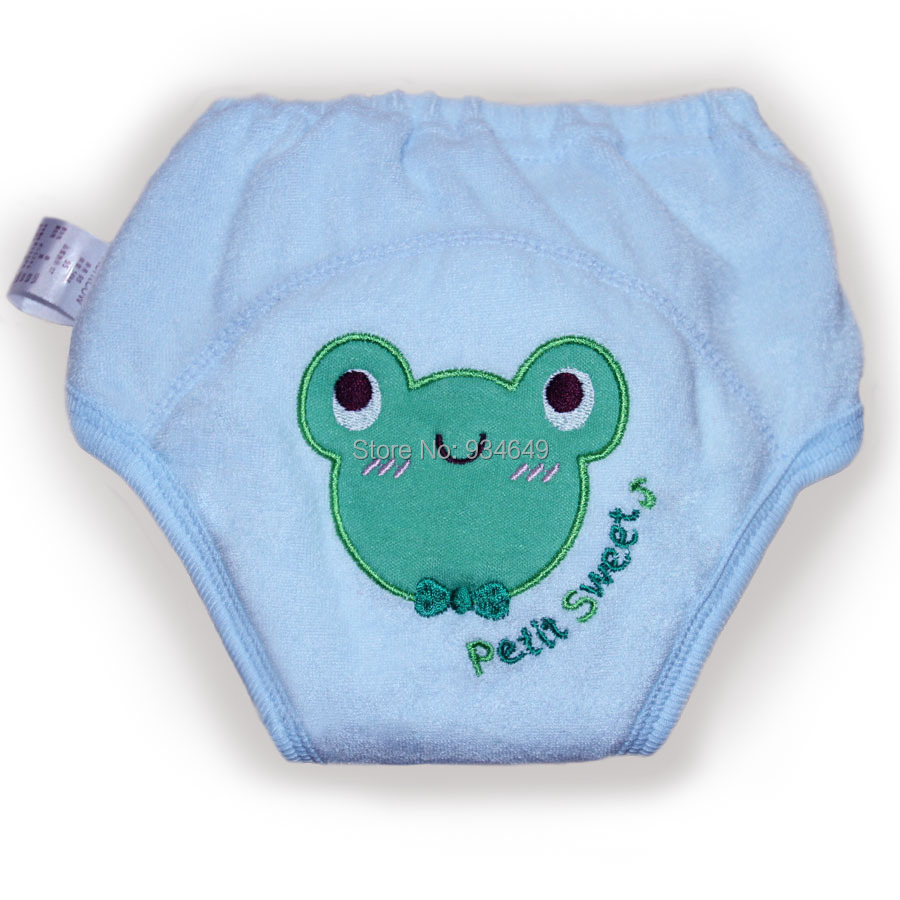 2pcs/lot 5 Layers Cute Baby Training Pants Bebe Diapers Boy Girl Shorts Underwear Infant Nappies Waterproof breathable #SY009