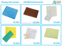 Kitchen Application and Wood Pulp & PET Material kitchen cleaning cloth