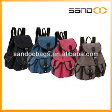 China backpack for high school wholesale canvas backpack