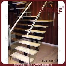 Plein air préfabriquée escaliers en bois pour les petits espaces