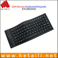 3d wireless/bluetooth silicone keyboard for iphone
