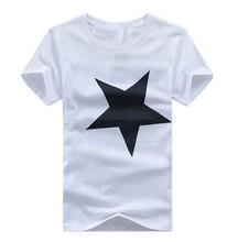 2015 popular star pattern t shirt men or women