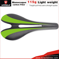 New Design Miracle Carbon Fiber Road Bike Saddle 3K Matt Toray T700 Bicycle Saddle For MTB/Time Trial Bike