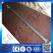 Adjustable Galvanized Prop for Concrete Wall