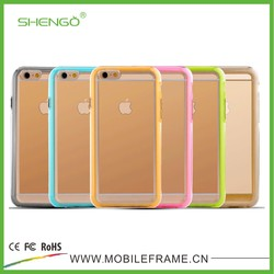 Low Price Phone Case,PC and TPU Material Phone Cases,2 Pieces Case for iPhone 6