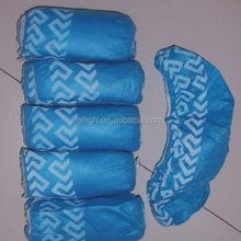 Blue Shoe Covers - Disposable- Anti-Skid - Large- 100 pcs