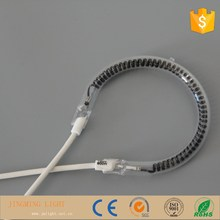wholesale pear shape carbon fiber quartz infrared heating lamp for oven