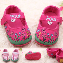 Lovely new baby shoes, beautiful princess baby shoes, soft sole shoes baby