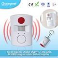 Nuevo hogar puerta de seguridad de parada sirena de alarma sistema de alerta de alarma de puerta