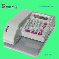 2012 Currency Check Writing Machine (KSW310)