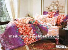 2012 new Pigment bedding set( BED SHEET)