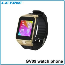 2015 New Android 4.4 Bluetooth Smart Watch Phone GV09/GV09 Bluetooth Smart Watch/Smart Watch GV09