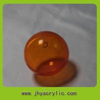 Transparent giant plastic hollow acrylic ball plexiglass sphere for christmas decoration