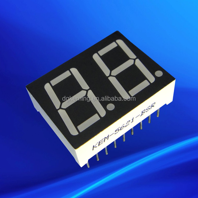 0.56 Inch red LED Number Display 5261bsr Two Digit 7 Segment LED display 2 Digit